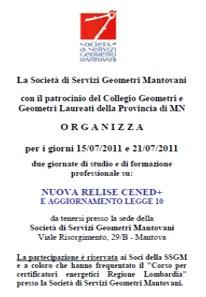 I CORSI INDETTI DA SSGM MANTOVA - CLICCA PER SCARICARNE IL PDF